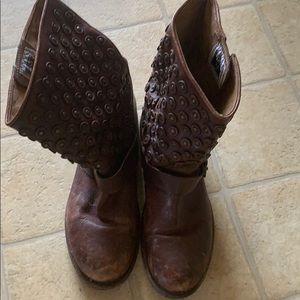 Frye Jenna Studded Boots